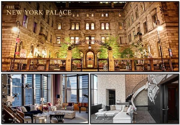 Courtesy New York Palace Hotel