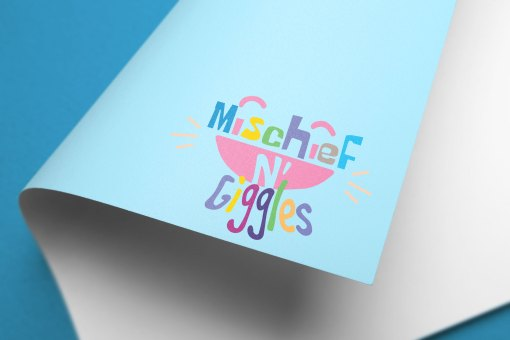 Mischief N'Giggles Logo and Branding