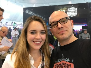 Dampf.TV und Katharina @ THE HALL OF VAPE 2017
