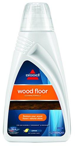 Bissell 1788L Wood Floor Reinigungsmittel für Spinwave/Crosswave und andere Hartboden-Reinigungsgeräte, auch für versiegelte Holzböden geeignet, 1 x 1 L