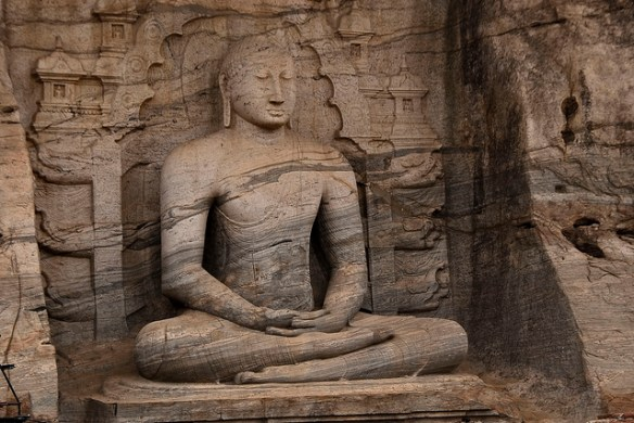 Samadhi Buddha statue (1153 to 1186 AD), Polonnaruwa, Sri Lanka