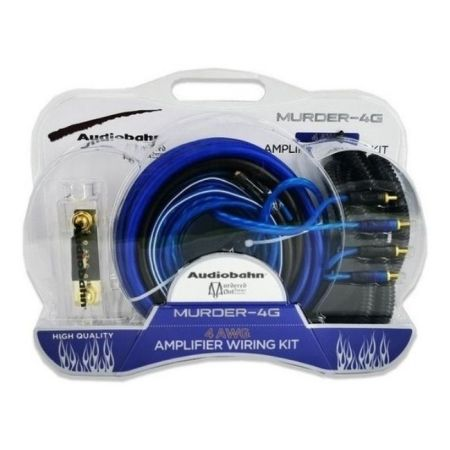 KIT DE CABLE AUDIOBAHN MURDER-4G