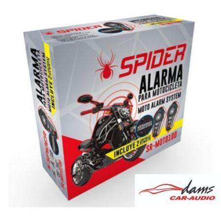 KIT DE ALARMA PARA MOTO SPIDER SR-MOTO100