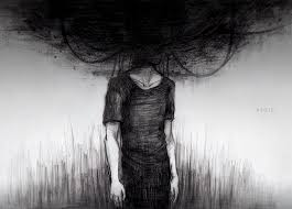 """""""..depressed image in the most grayscale-esque filter."""""""