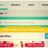 Urban Clap App Review + Salon Service Review