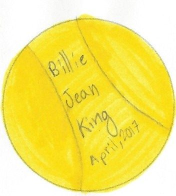 Billie Jean King Damsels Button