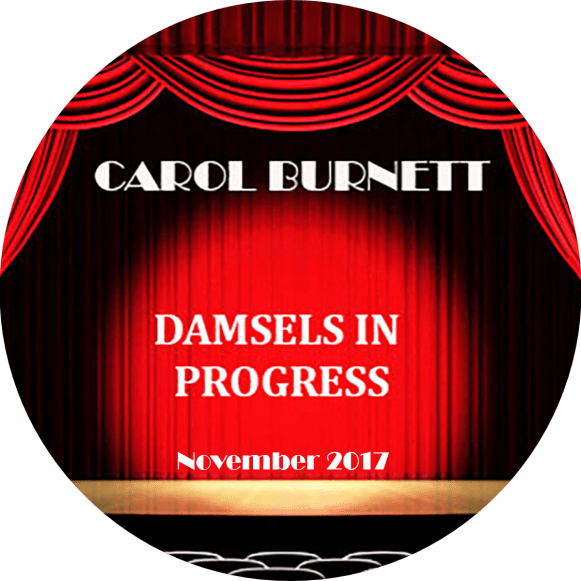 November 2017 Button single - Carol Burnett