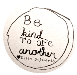 Ellen DeGeneres button V