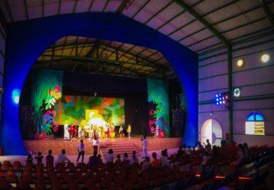 địa điểm tổ chức sự kiện sân khấu dế mèn