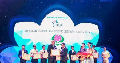 Giải thưởng du lịch 2019