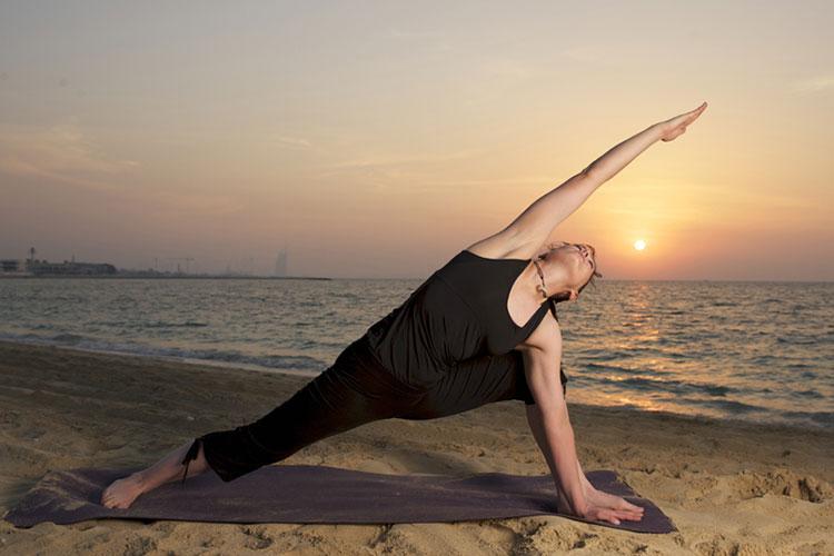Йога упражнения 5
