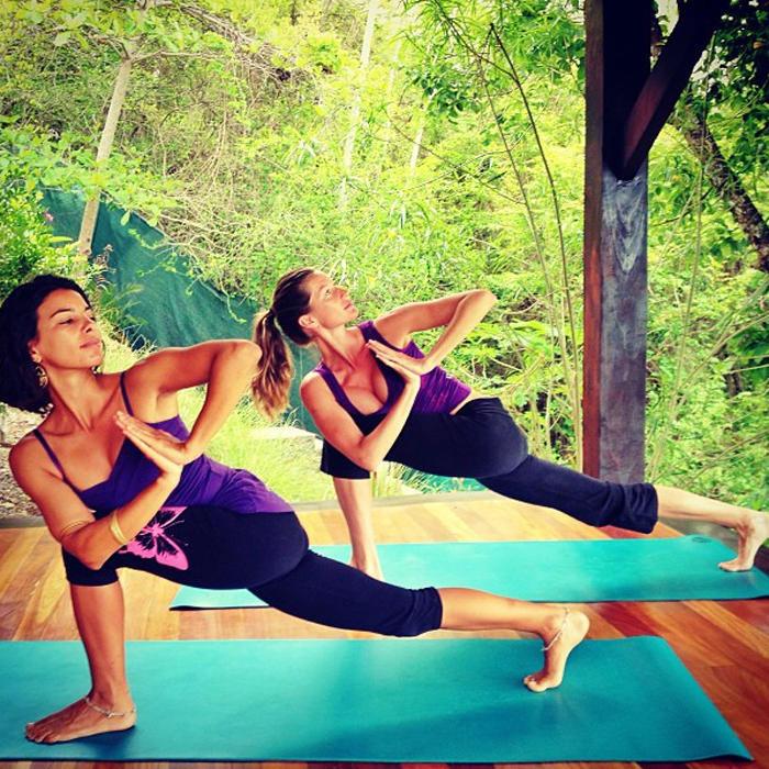 Йога упражнения 6