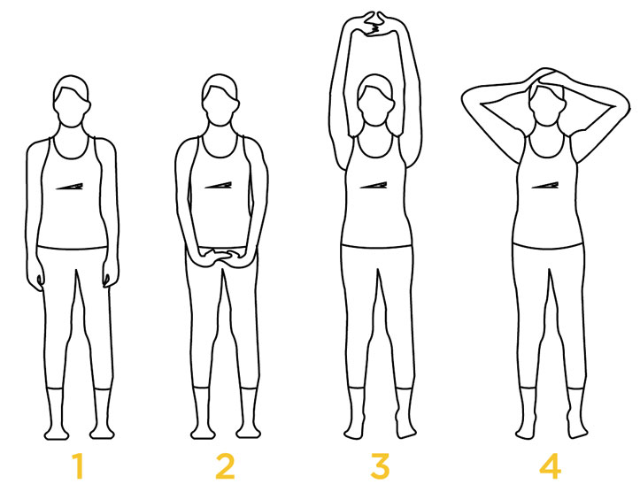 Йога упражнения 1