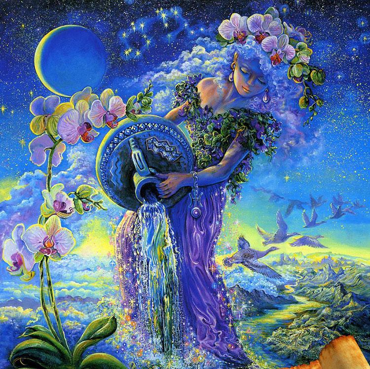 Жената Водолей в любовта 3