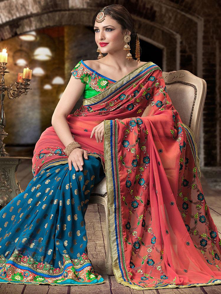 Индийско сари – как да го носим? 3