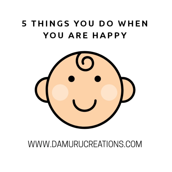 5 things happy people do repeatedly