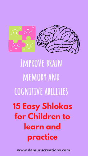 Shloka for children