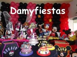 fiesta de monsther High y Mickey 04 de Agosto (1)