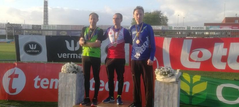 BK 10000m Masters Outdoor –  Belgisch kampioen (M45)