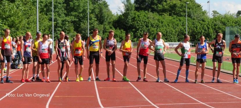 BK 5000m Masters Outdoor – ondankbare 4de plaats
