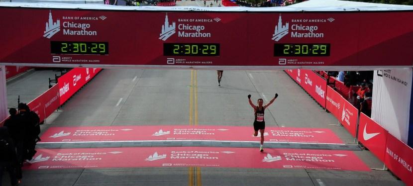 Chicago marathon | 13 Okt 2019 | 02:29:15