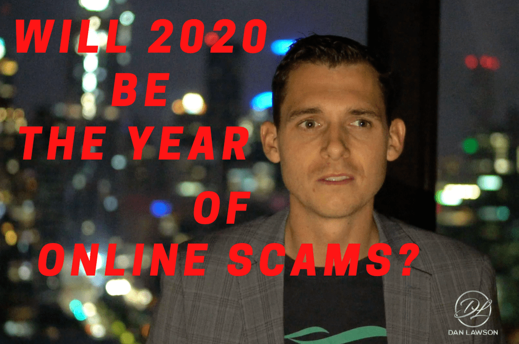The year for online scams