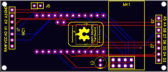 Scene controller main board