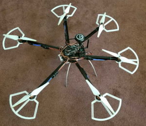 Drone without retracts
