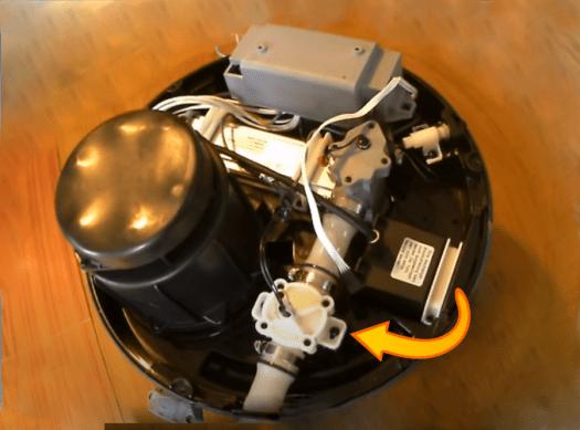 inside pump/heater