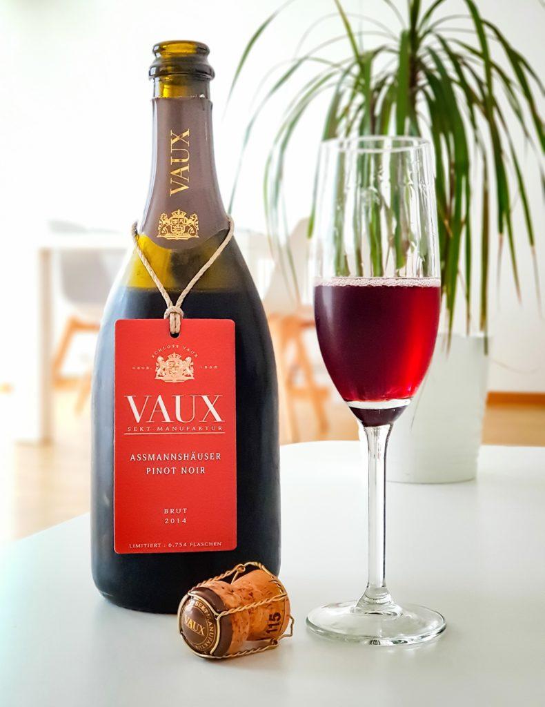 Schloss Vaux Assmannhäuser Pinot Noir Red Sekt