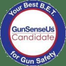 Endorsed as a GunSenseUs Candidate!
