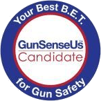 Endorsed as a GunSenseUs Candidate!