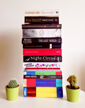 My book stack