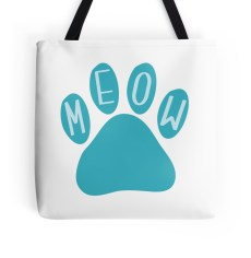 Dana and the Books Shop - Cat Paw Meow Tote