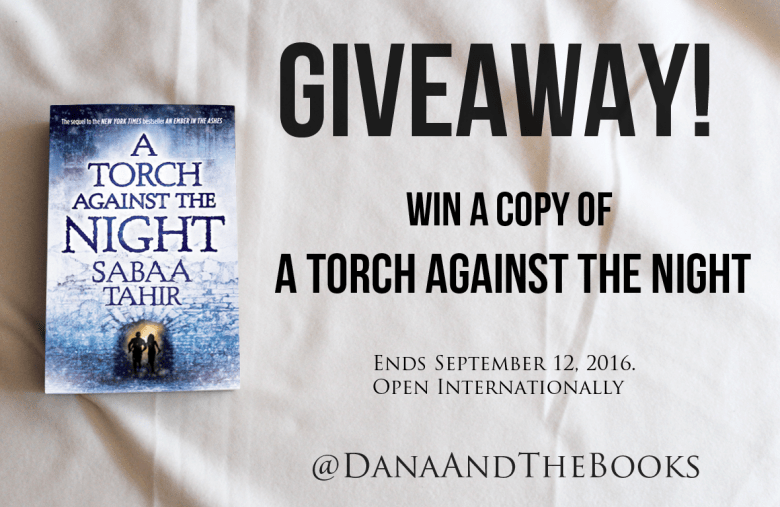 A Torch Against the Night Giveaway
