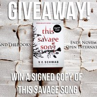 This Savage Song Giveaway - VE Schwab