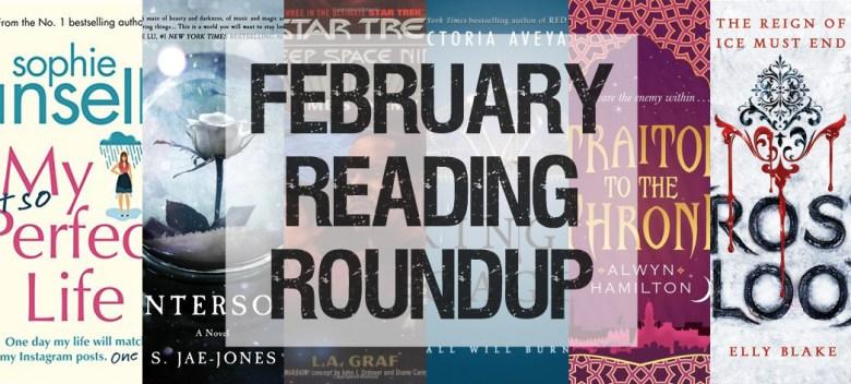 February 2017 Reading Roundup