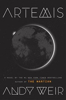 Artemis Andy Weir US Cover