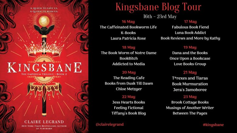 Kingsbane Blog Tour