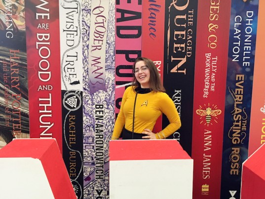 Me and the YALC sign