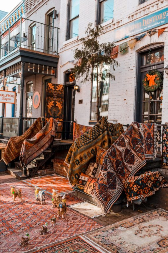 Woven History and Silk Road DC