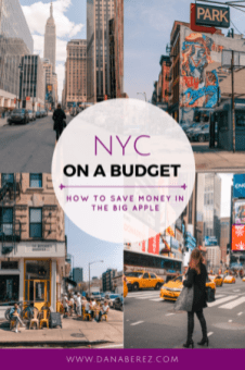 nyc on a budget