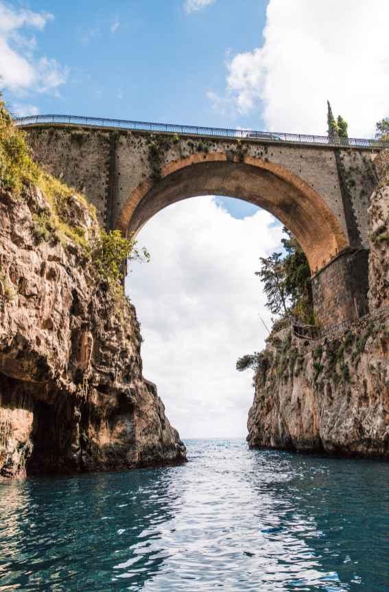 Unforgettable Experience Sailing Along the Amalfi Coast Italy | Positano Summer Travel Day Trip Blue Star Positano | Fiordo di Furore