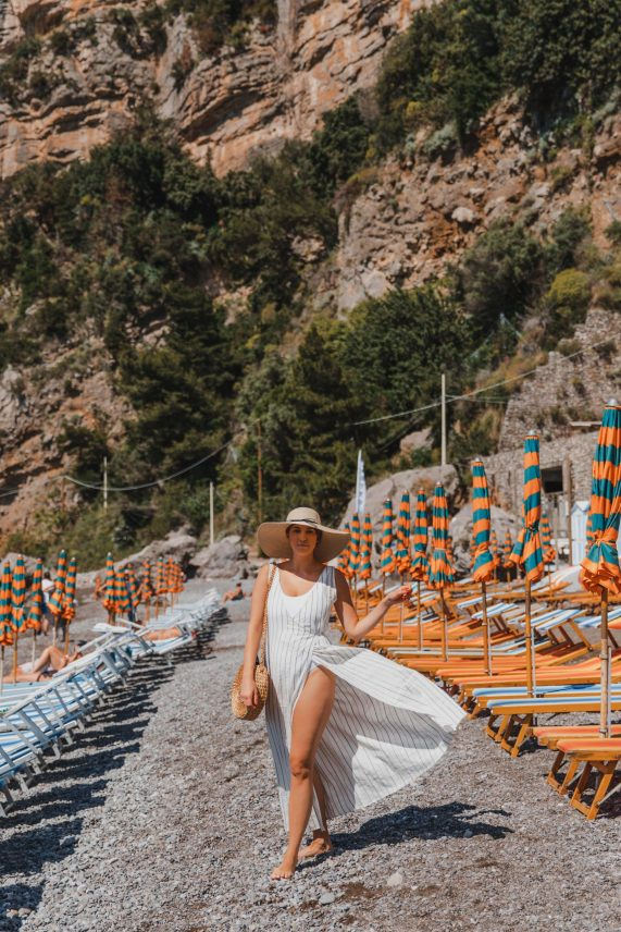 Ultimate 4 Day Positano Italy Travel Itinerary | What to See & Where to Eat: Fornillo Beach Positano