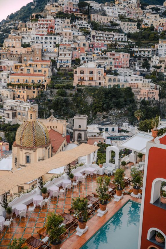 Ultimate 4 Day Positano Italy Travel Itinerary | What to See & Where to Eat: Aperitivo Franco's Bar in Le Sirenuse