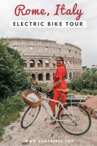 Rome in a Day tour Electric Bike
