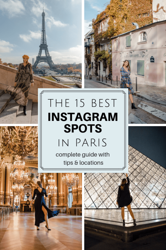 Paris instagram spots