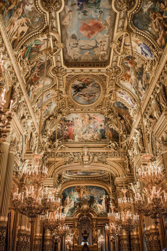 Blogger's travel guide to Paris   Top things to do and see in Paris France   Paris Photography Inspiration   Dana Berez Travel Guide Palais Garnier Paris Photogprahy