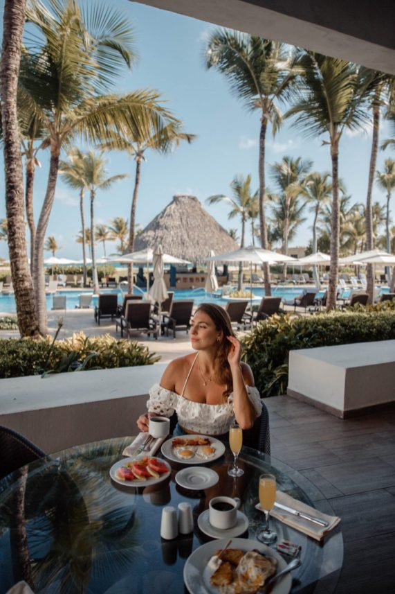 Hard Rock Punta Cana Breakfast