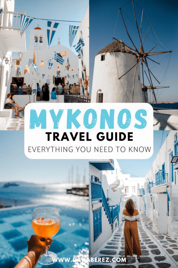 Mykonos Travel Guide Dana Berez
